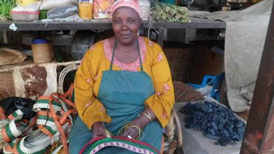 Aisha Ahobantegeye, a vendor in Biryongo Market, wants the budget to focus on programmes that will boost job-creation. Small business operators like her hope the budget will help create more markets for local productsThe New Times / Triphomus Muyagu