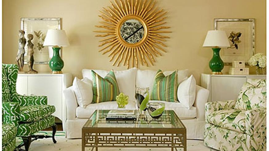 Velvet emerald green sofa seats look regal and vintage because you rarely get furniture in this colour.. Saturday Times/Net photo