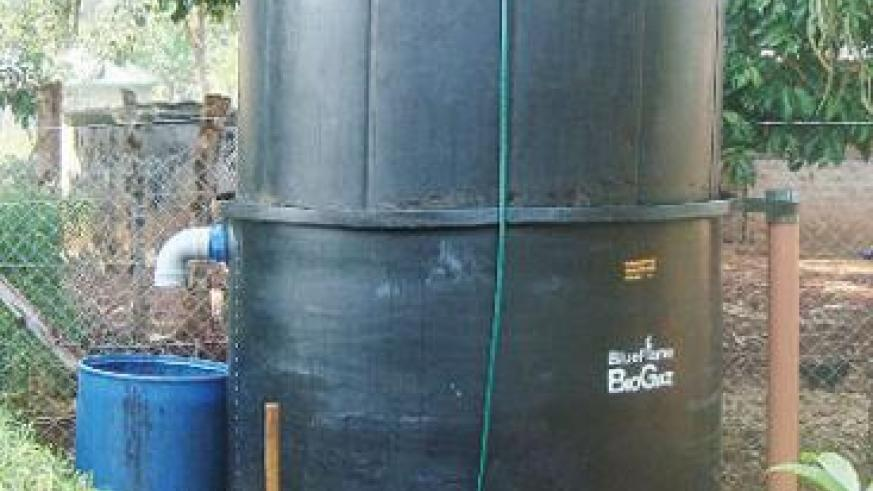 A bio-gas digester that is also used to produce organic fertilisers. The New Times / Peterson Tumwebaze