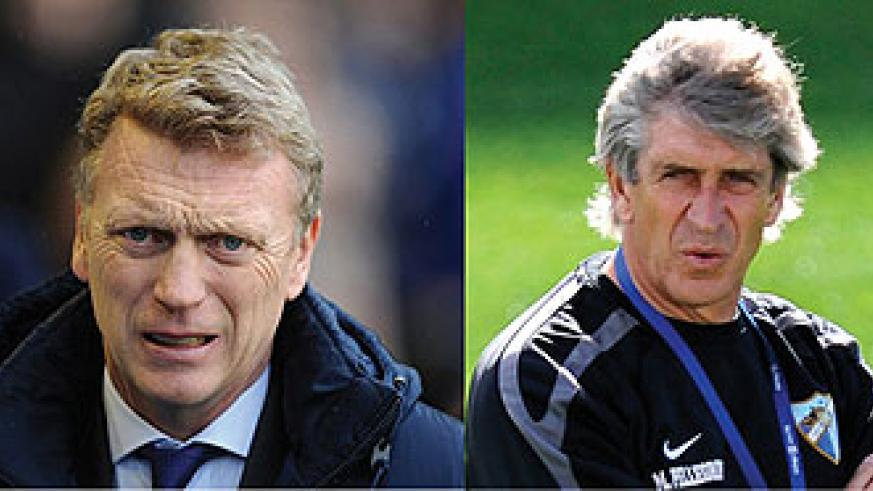 Moyes faces Chelsea and Liverpool in his opening three games.Manuel Pellegrini manages in the Premier League for the first time with Man City.