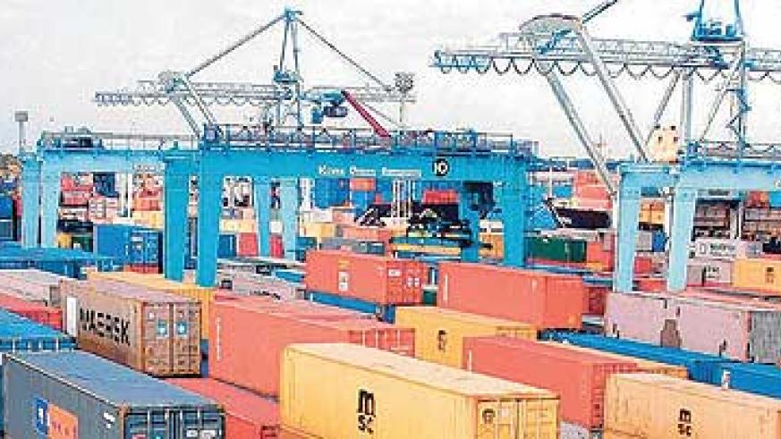 Cargo congestion is one of the reasons that causes delays at Mombasa port. The New Times / File photo