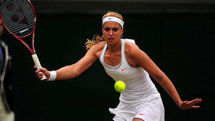 Lisicki showed the fight that helped her to jettison Serena Williams in the fourth round. Net photo.