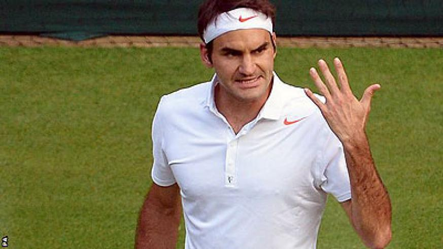 Federer has fallen fifth in world rankings after Wimbledon exit.