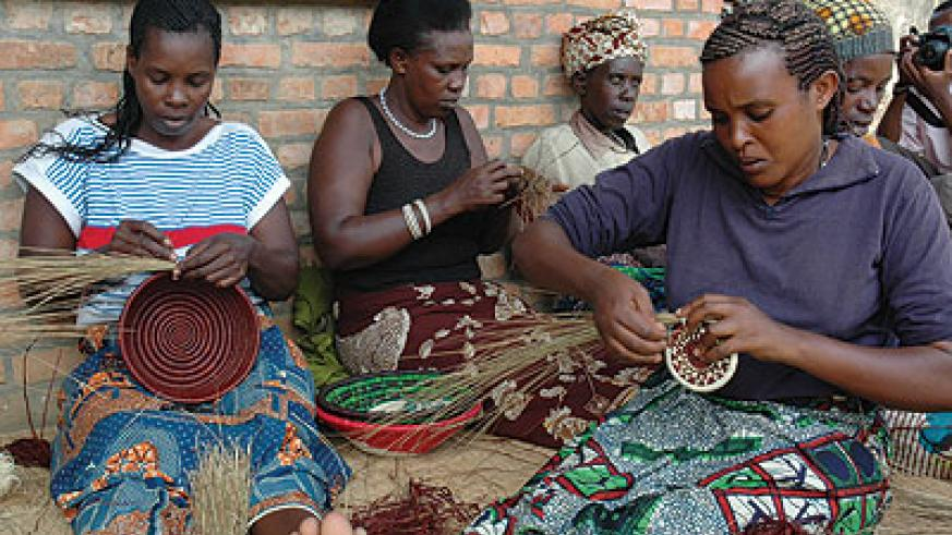 Skills that promote self-reliance are vital to the actualisation of the EDPRS 2 targets. The New Times / File photo