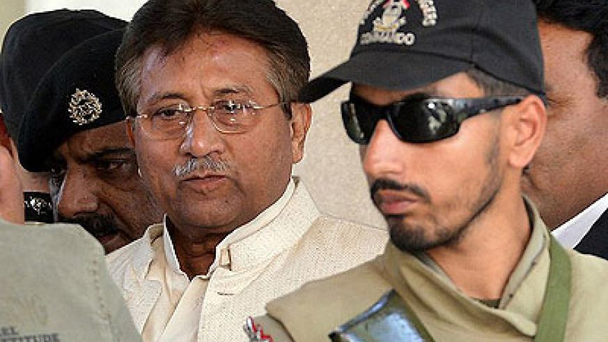 Musharraf faces charges for murder, criminal conspiracy to murder and facilitation of murder, officials say. Net photo.