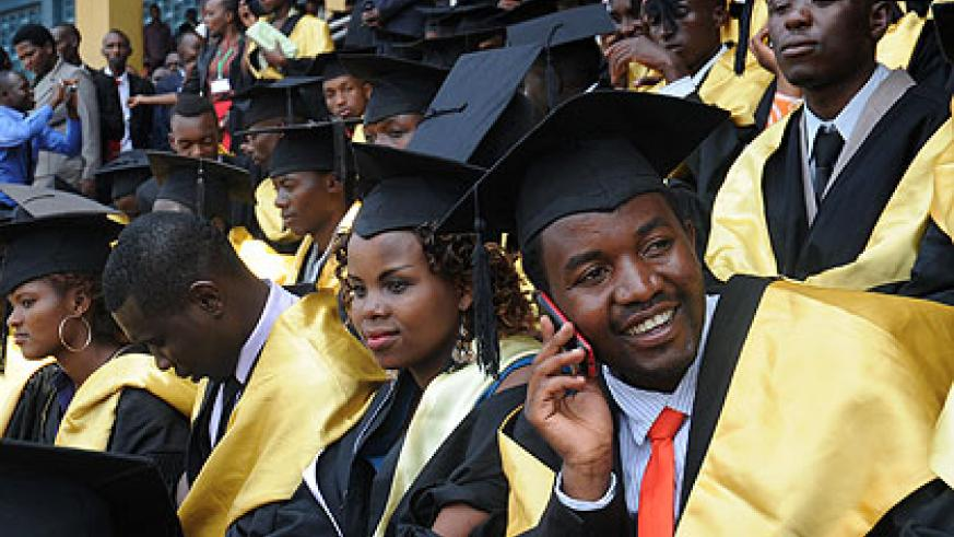 <p>Over 1,800 students yesterday graduated from  Kigali Institute of Education (KIE) with a call from the Minister of Education, Dr Vincent Biruta, to execute their teaching duties wit....