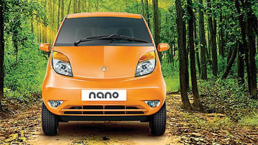 The Nano was launched amid great fanfare as the answer to India's aspirational middle class. Net photo