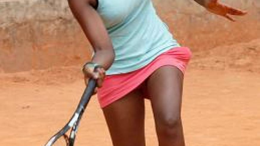 Rwanda's number one Gisele Umumararungu will be a top contender for the women singles' title. Times Sport / Robyn Spector.