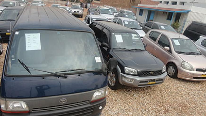 Car importers have expressed concern over a cash bond the KRA plans to impose on them. The New Times / P. Tumwebaze