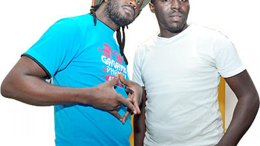 (L-R) Bebe Cool in a photo with Uncle Austin. The New Times /File.