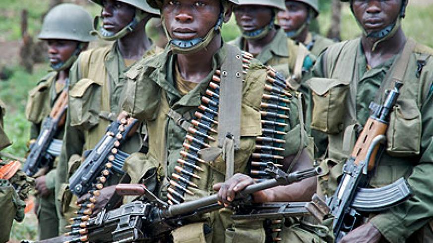 FDLR militants in the jungles of DRC. The New Times/File