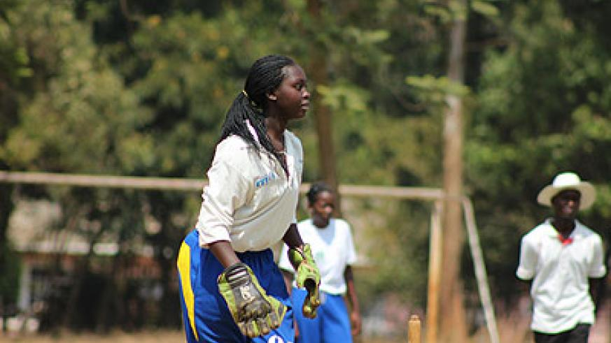 Jeanne d'arc Akingeneye of Queens of Victory scored 31 runs against Charity CC last weekend. Saturday Sport/ Courtesy.