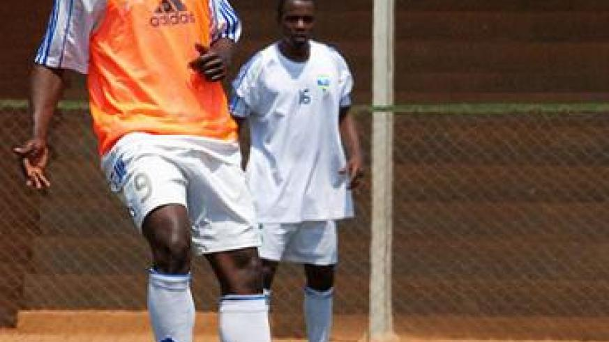 Michel Ndahinduka scored 22 goals for Bugesera and became the first player from the second division to play for the national team. Times Sport / T. Kisambira.