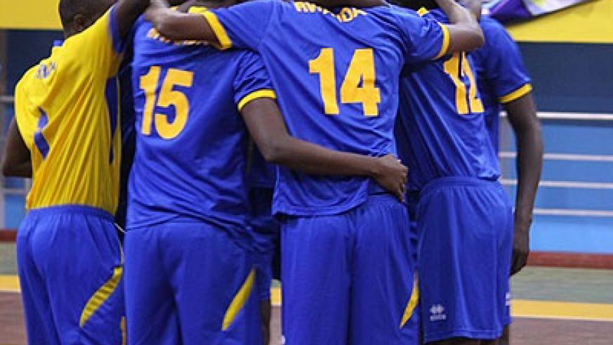 Rwanda volleyball team will face strong contest in the Zone V tournament due in November. The New Times / Courtesy.