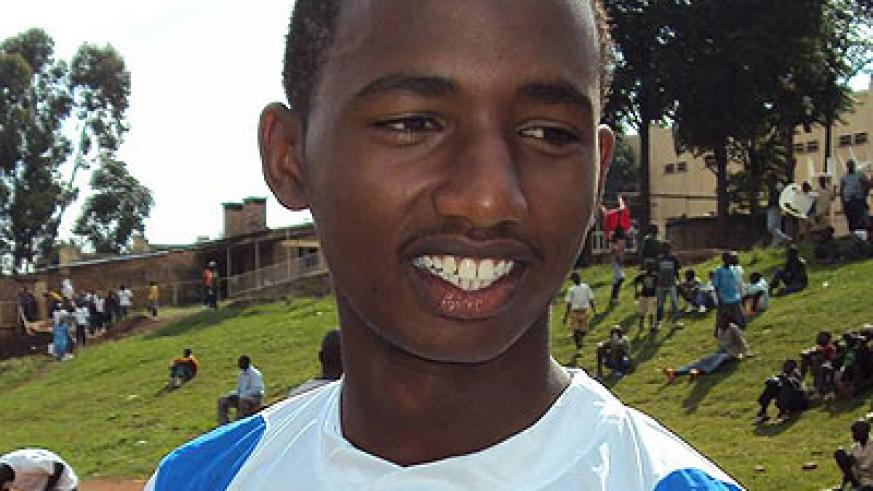 U20 national team striker Justin Mico is one of few remaining senior players at Isonga FC. Times Sport/File