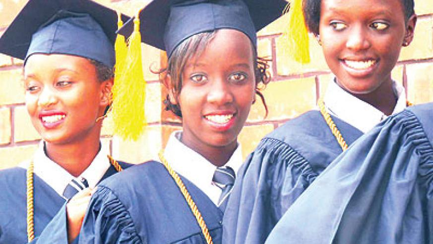 More professionals will be churned out by foreign universities with footprints in Rwanda. The New Times/ John Mbanda
