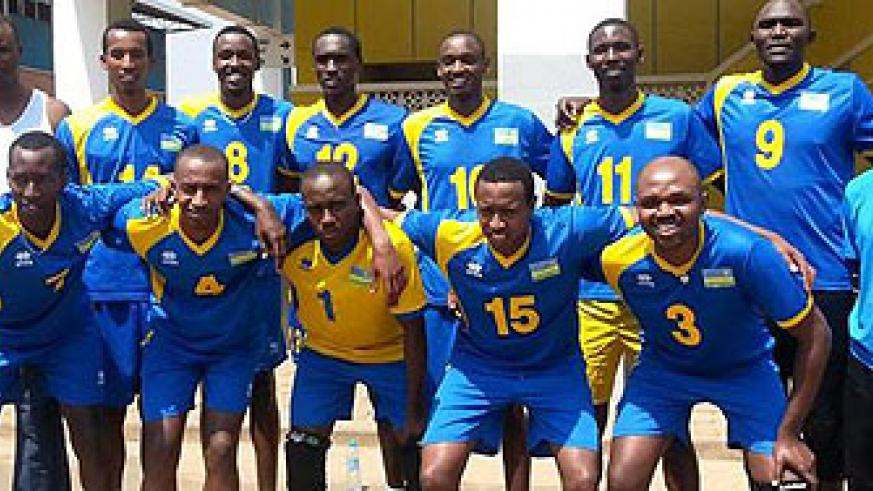 The national team which will battle for last round qualification spot during the Zone V world qualifiers in November. The New Times / Courtesy.