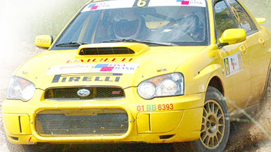 Giancarlo Davite has brought back his favourite Subaru Impreza N11 known as 'Umuletti' as he seeks to win this year's Mt. Gorilla Rally this weekend. Times Sport / File.