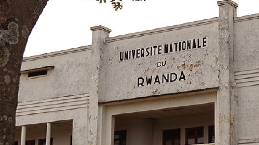 National University of Rwanda recently closed its bookshop. The New  Times / File.