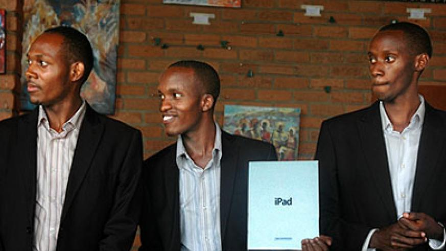 Management team of Yellow Counts awarded an iPad and will get finance for their projects. The New Times,T. Ishimwe
