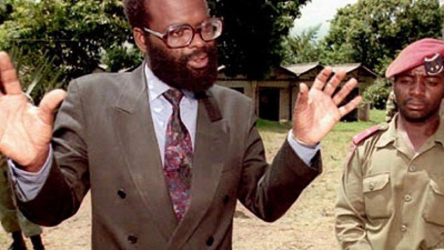 Jean Kambanda, prime minister of the 1994 genocidal interim government, who was convicted of genocide. Net photo.