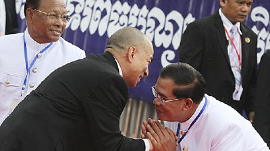 Hun Sen's party suffered its worst poll defeat in more than a decade earlier this year. Net photo.