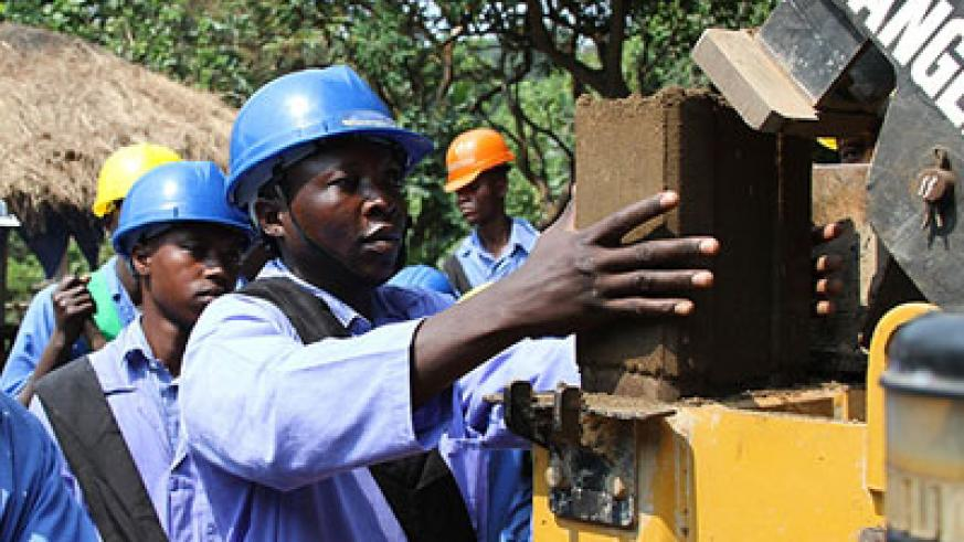Technical and vocational skills are relevant today more than ever. The New Times/Courtesy