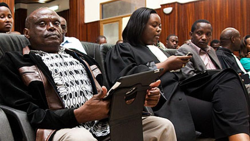 Rusiha at the Supreme Court yesterday. The New Times/Timothy Kisambira