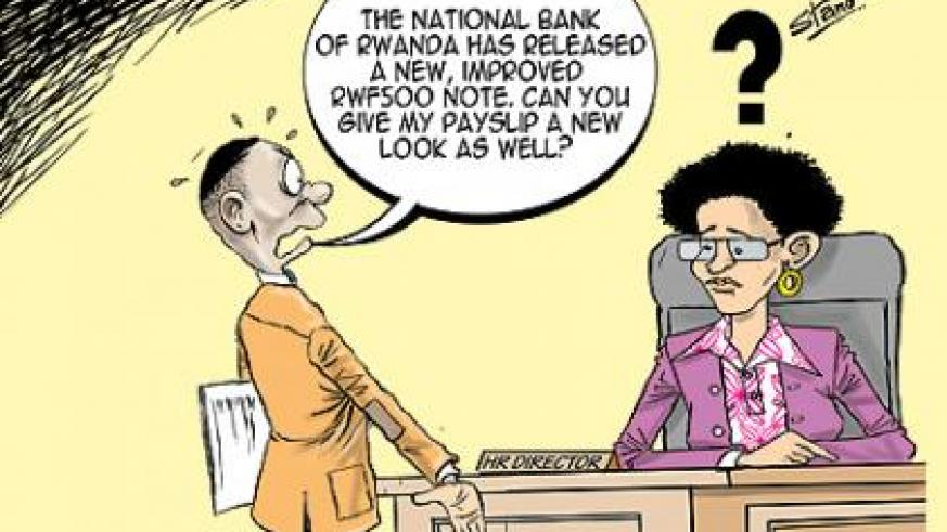 The National Bank of Rwanda has released a new, improved Rwf500 note. The move is aimed at strengthening the note's security features, according to a statement issued by the cent....