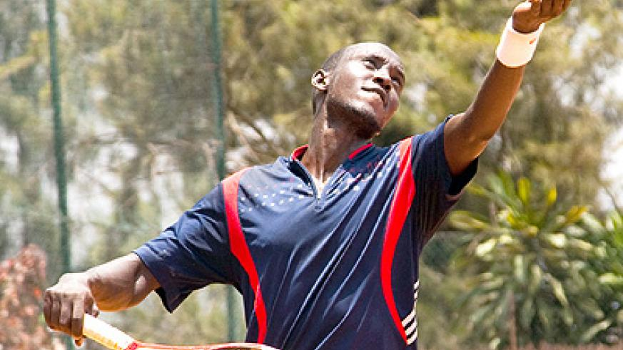 Rwanda's top seed Jean Claude Gasigwa will be looking to better his previous performances. Saturday Sport / File.