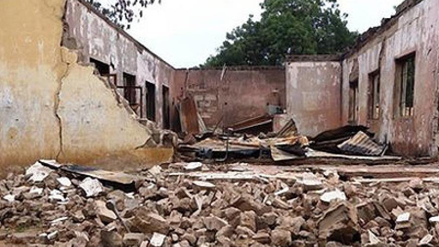 Militants regularly target schools in Yobe, such as this one in Mamudo. Net photo.