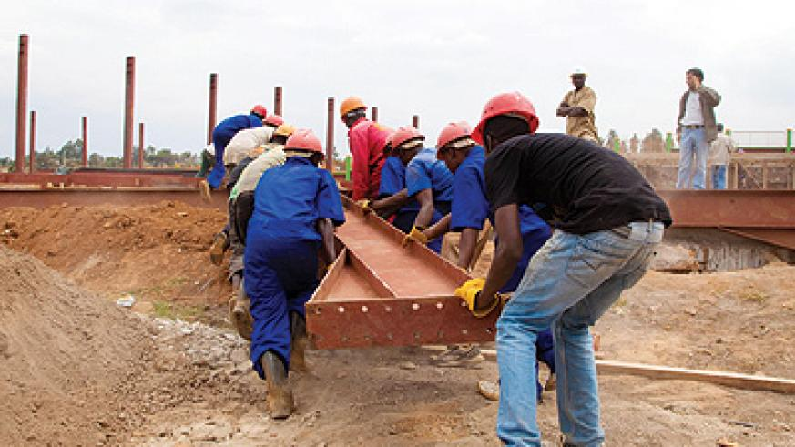Construction sector players are optimistic the forthcoming policy is a timely boost. The New Times/T. Kisambira