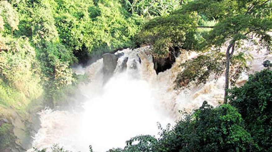 The government is primed to start the construction of a Rwf76 billion hydro-electric project at Rusumo waterfall. The New Times/ File.
