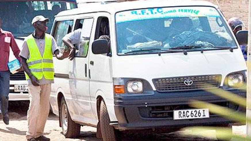 Mini buses are gradually paving way for bigger Coaster buses. The Sunday Times/File