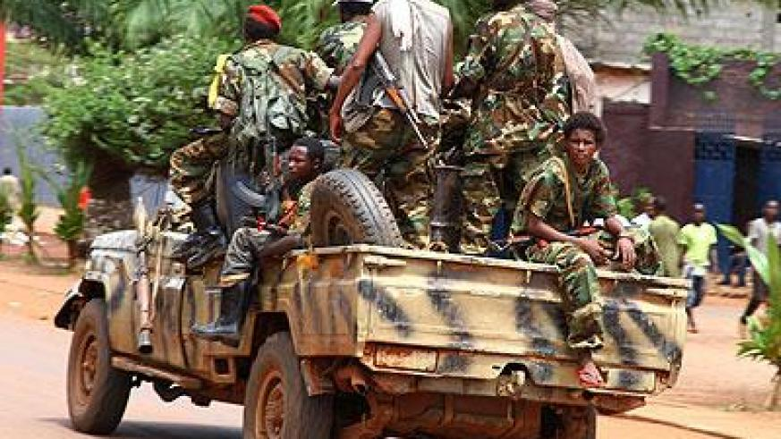 Former Seleka rebel fighters have attacked villages, while vigilante groups commit similar abuses. Net photo.