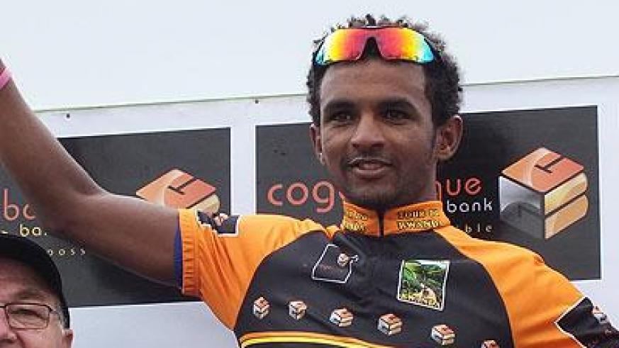Eyobe Metkel won Stage Six and also retained the Black Jersey for best climber. Sunday Times/Timothy Kisambira