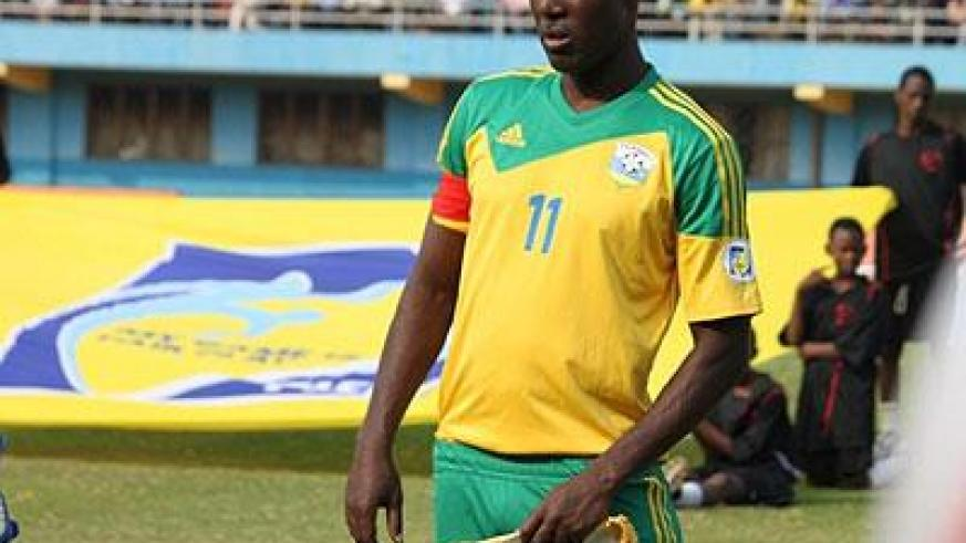 Olivier Karekezi as part of the Amavubi team that featured in 2004 Nations Cup finals. Sunday Sport/Timothy Kisambira
