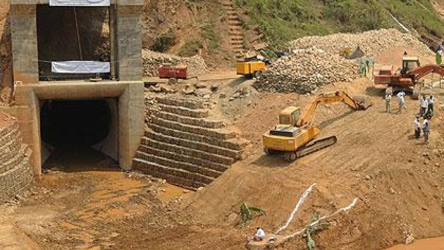 Nyabarongo hydro power project during its initial stages. Sunday Times/File
