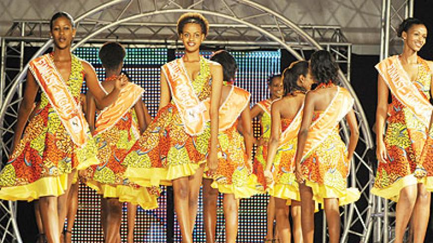 This year's Miss Rwanda has attracted many contestants. File
