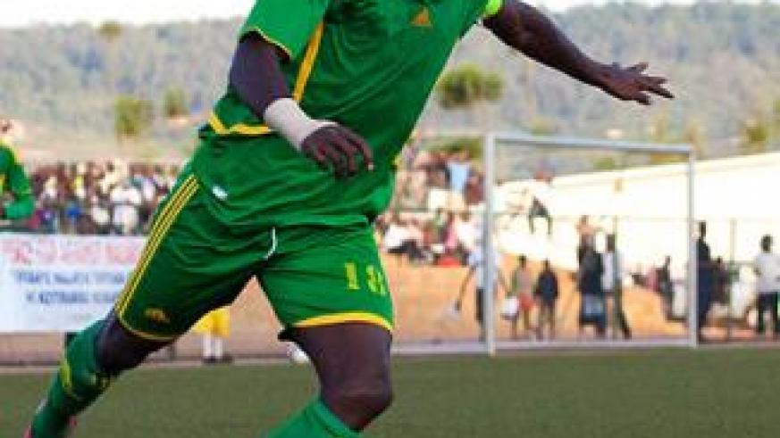 AS Kigali skipper Jimmy Mbaraga has recovered in time to lead the team on it's return to the continental scene for the first time since 2002. Saturday Sport/ T. Kisambira.