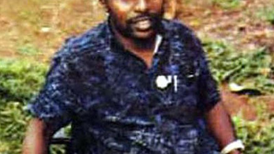 IN THE DOCK: Simbikangwa was arrested on the French island of Mayotte in 2008. Net photo.