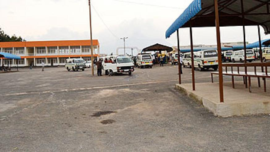 Musanze taxi park, constructed at Rwf1.5 billion, was opened on Friday and is expected to ease operations of commuter operators. Jean d'Amour Mbonyinshuti.