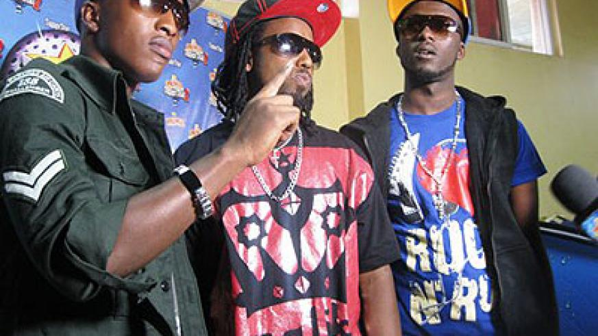 The Urban Boys in an undated photo. File