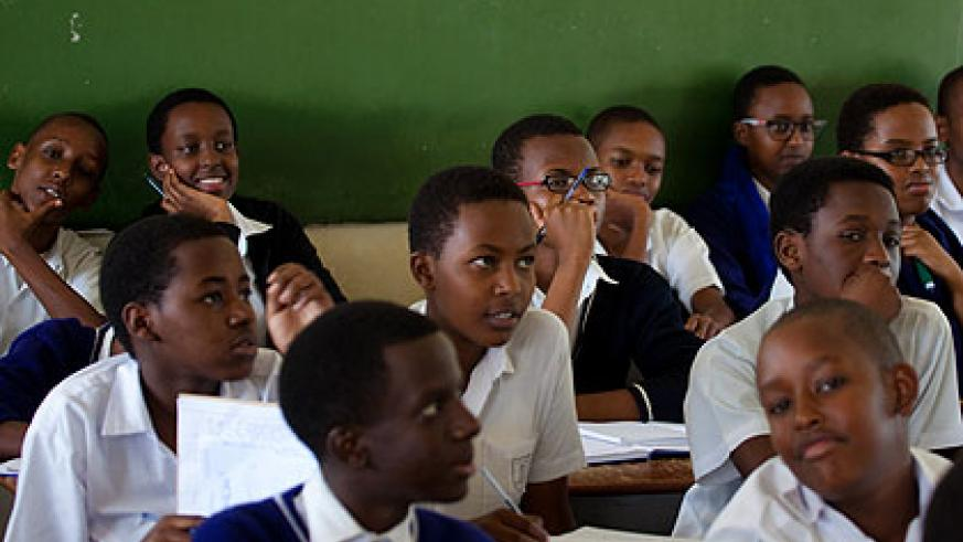 Promoted: Members of the civil society are calling upon the government to reconsider the policy of automatic promotion of students.  File.