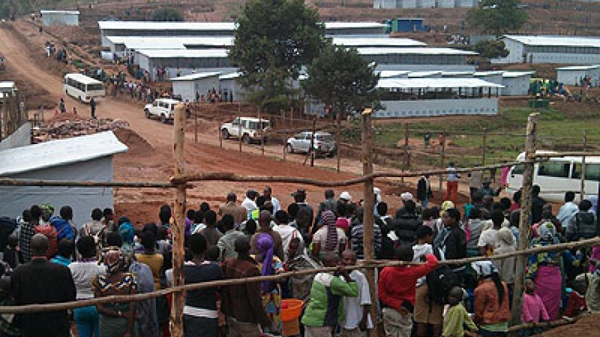 Mugombwa camp is set to accommodate about 10,000 Congolese refugees who had been temporarily hosted at Nkamira since 2012. File.