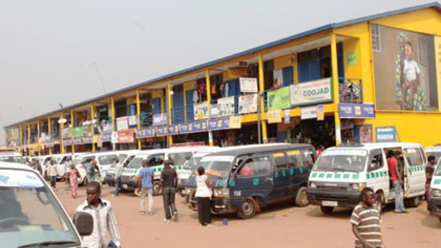 The commercial building located at the Nyabugogo bus terminal. John Mbanda.
