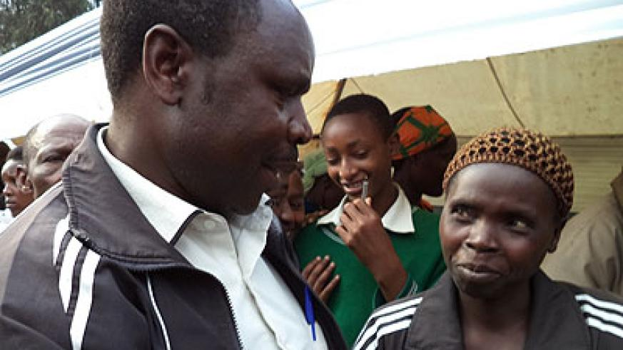 Ndagijimana, who testified on Friday during a Kwibuka Flame event in Nyabihu District, was congratulated by residents who turned up for the memorial event. Jean-Pierre Bucyensenge