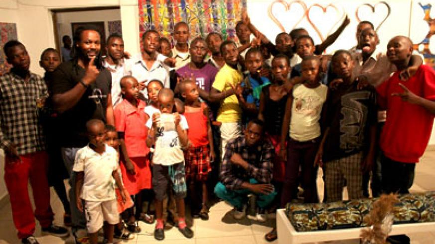 Inema Art Center helps young people to achieve their dreams and aspirations in art. Courtesy