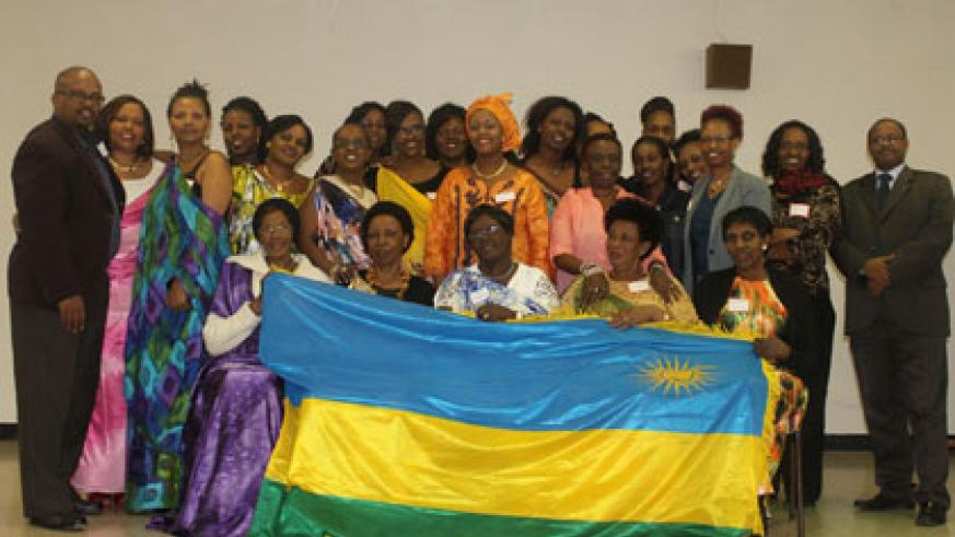 Some of the participants at the workshop in Canada. Louise Umutoni.