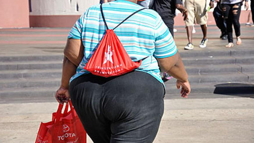 A new report says  being overweight increases a woman's risk of ovarian cancer. Net photo.